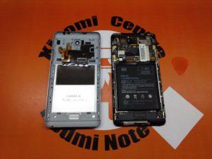 Демонтаж задней крышки Xiaomi в Сервисе XiaomiCenter